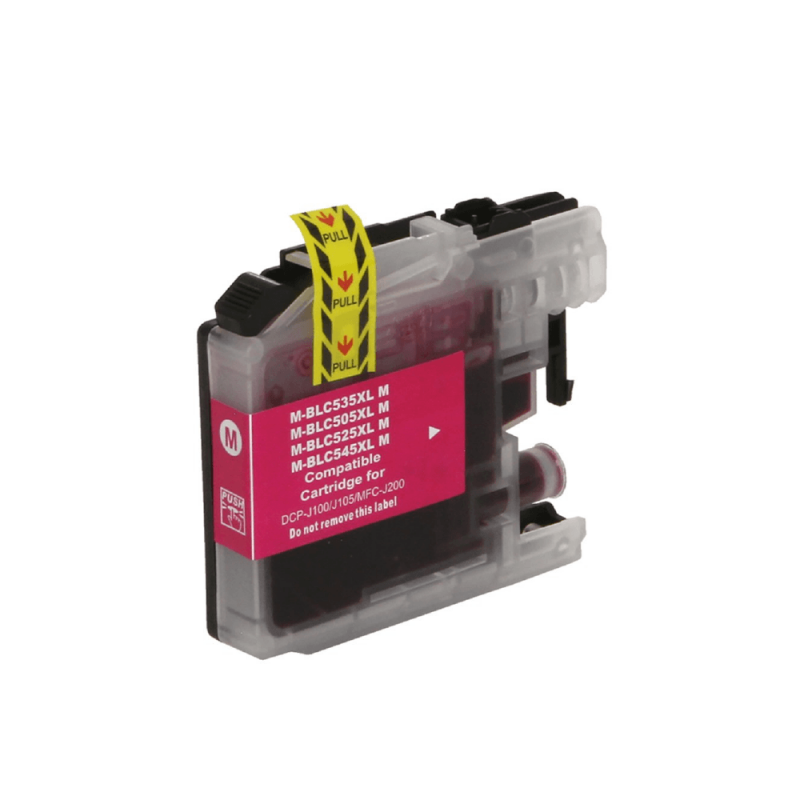 CARTUCHO DE TINTA COMPATIVEL BROTHER LC505 MAGENTA