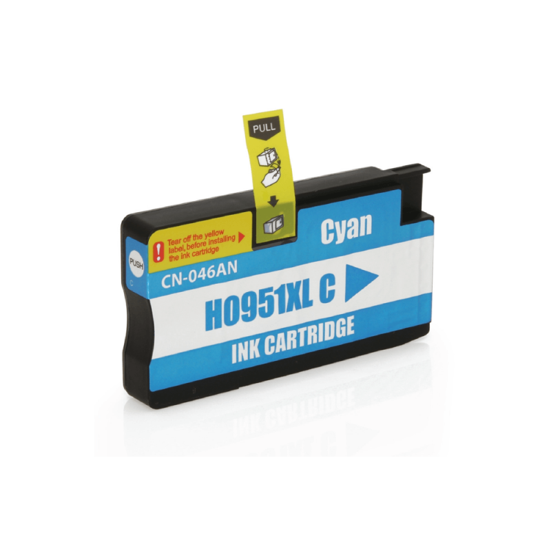CARTUCHO DE TINTA COMPATIVEL HP 951XL CYAN