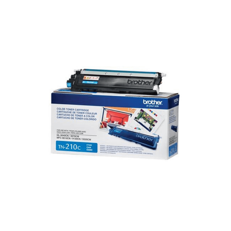 CARTUCHO DE TONER BROTHER TN210 CYAN ORIGINAL