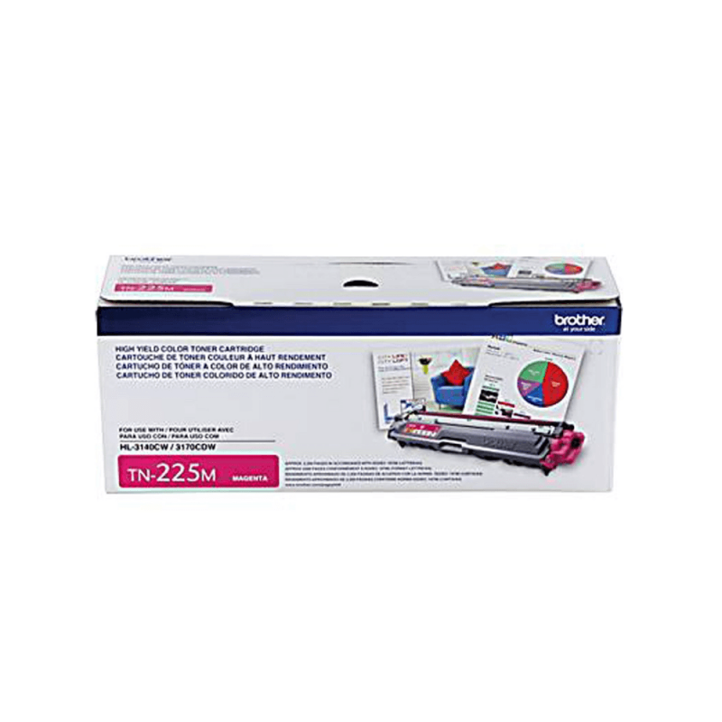 CARTUCHO DE TONER BROTHER TN225 MAGENTA ORIGINAL