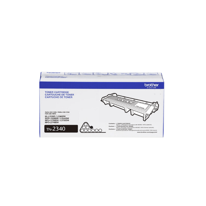 CARTUCHO DE TONER BROTHER TN2340 ORIGINAL