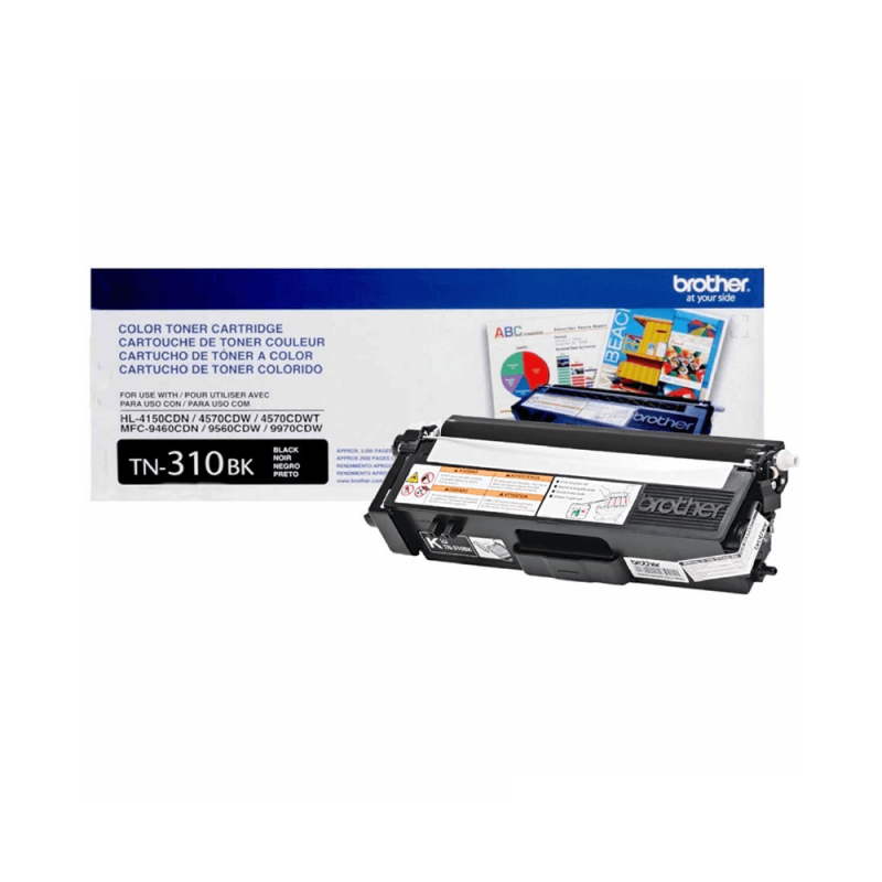CARTUCHO DE TONER BROTHER TN310 BLACK ORIGINAL