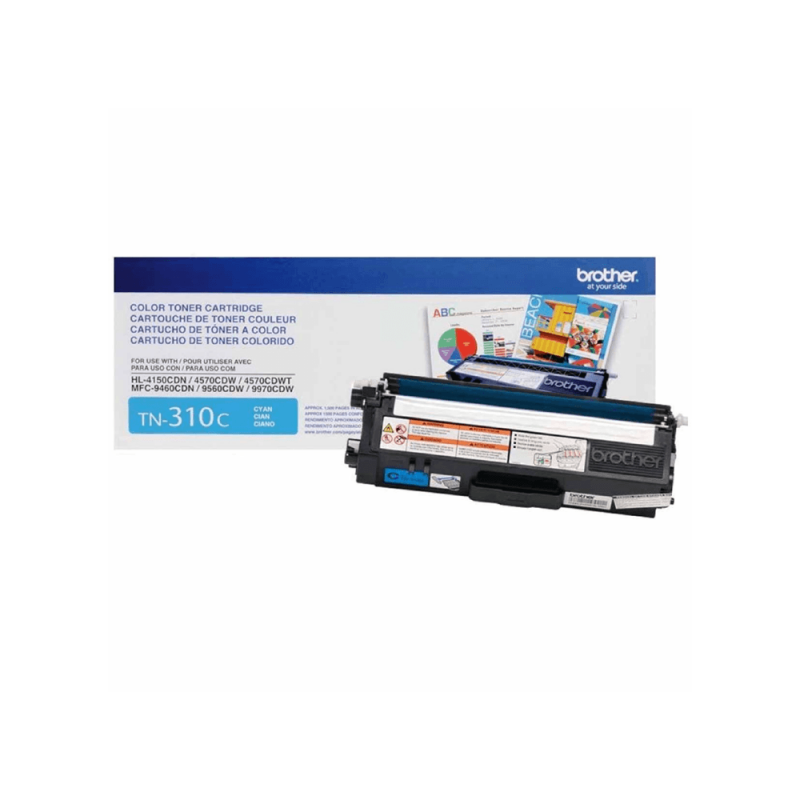 CARTUCHO DE TONER BROTHER TN310 CYAN ORIGINAL