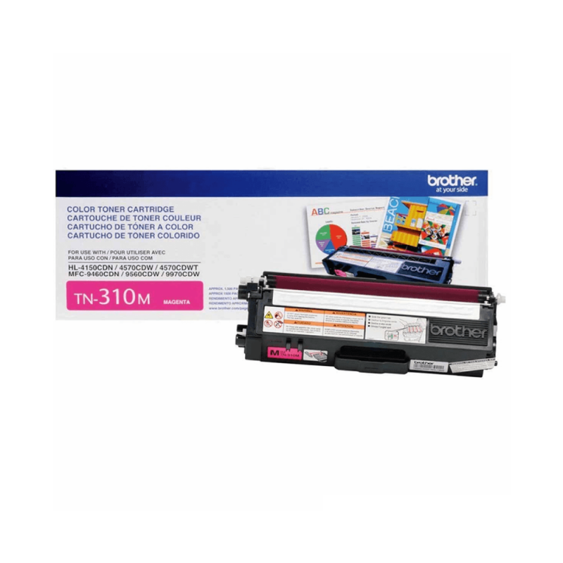CARTUCHO DE TONER BROTHER TN310 MAGENTA ORIGINAL