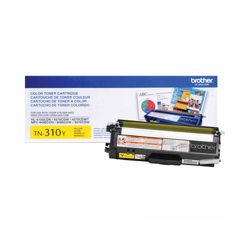 CARTUCHO DE TONER BROTHER TN310 YELLOW ORIGINAL