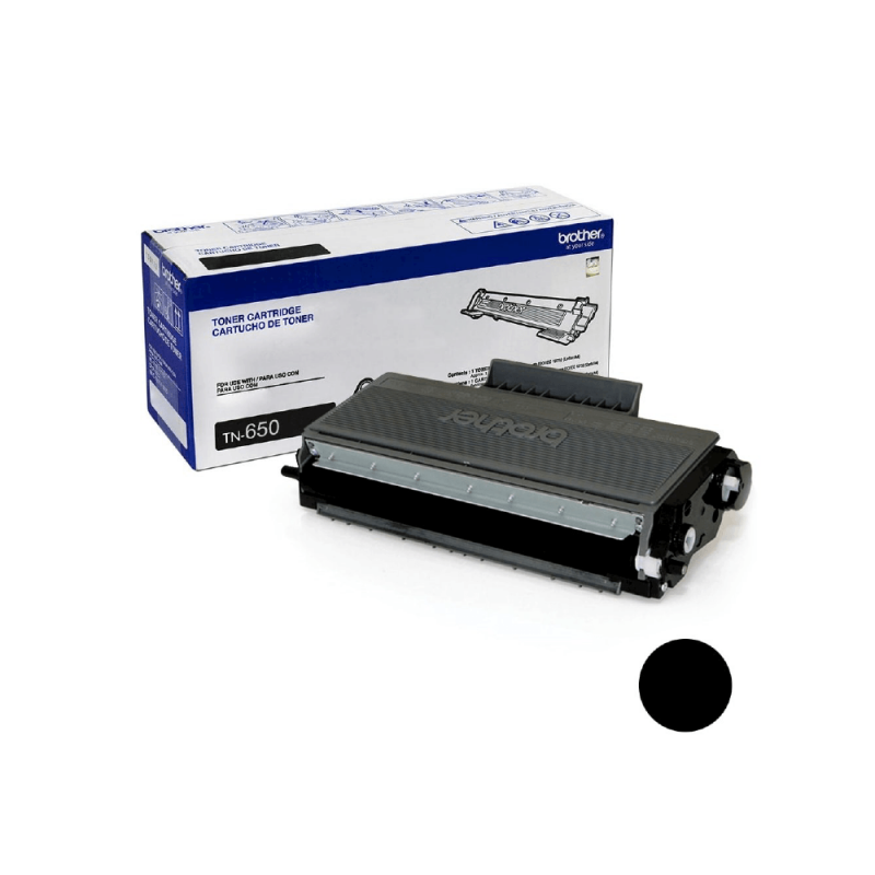 CARTUCHO DE TONER BROTHER TN650 ORIGINAL