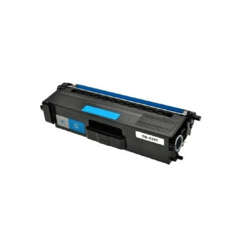 CARTUCHO DE TONER COMPATIVEL BROTHER TN419 CYAN MYTONER