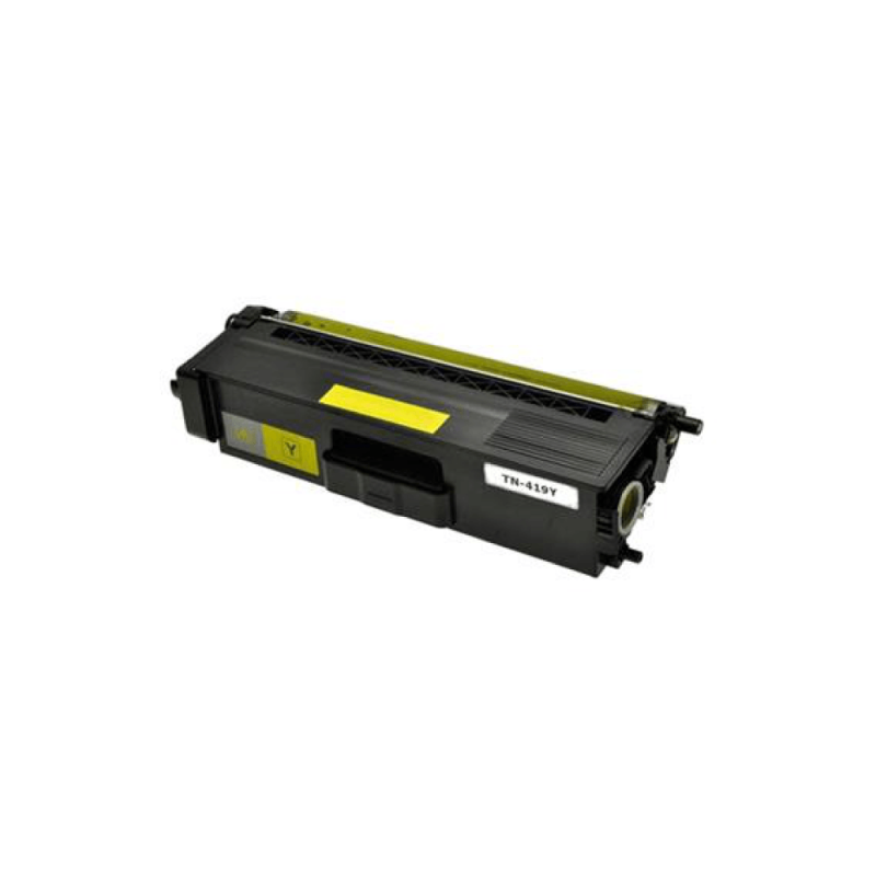 CARTUCHO DE TONER COMPATIVEL BROTHER TN419 YELLOW MYTONER