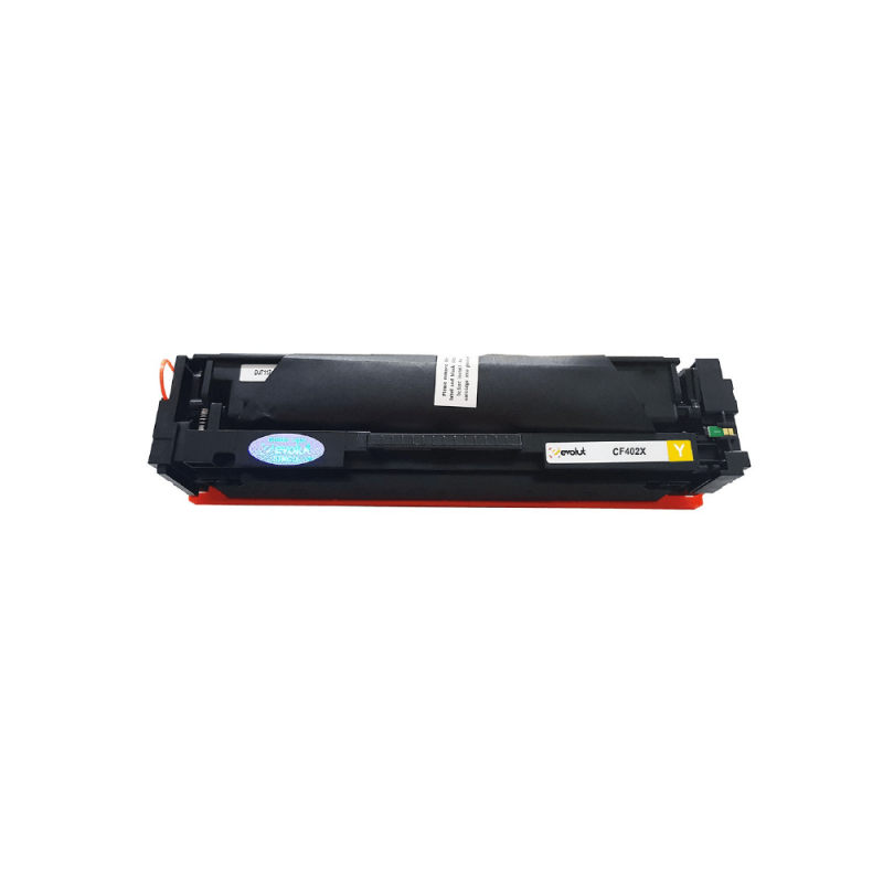 CARTUCHO DE TONER COMPATIVEL HP CF402X YELLOW EVOLUT