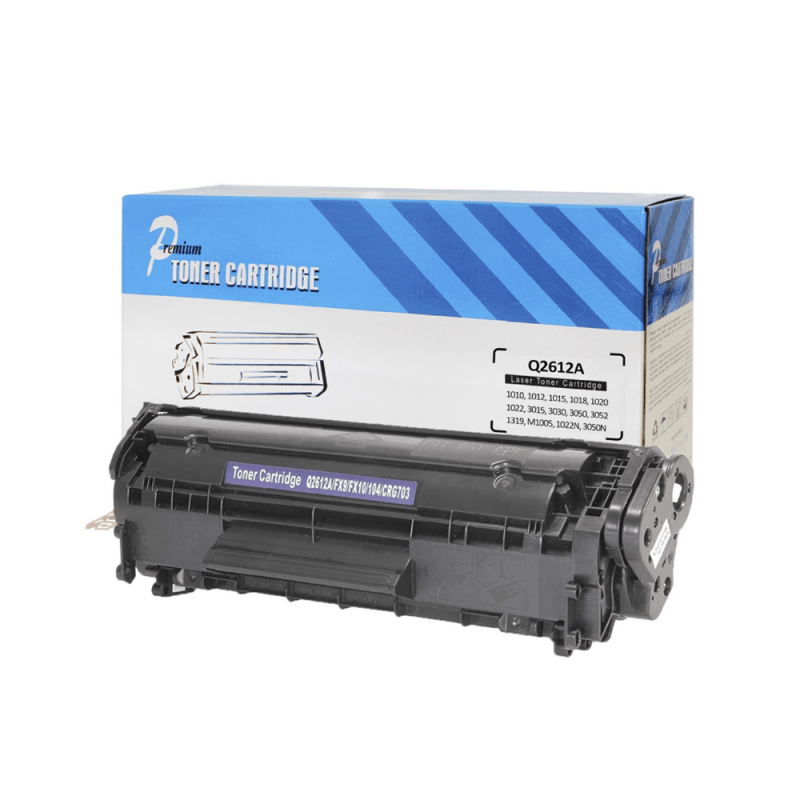 CARTUCHO DE TONER COMPATIVEL HP Q2612A PREMIUM