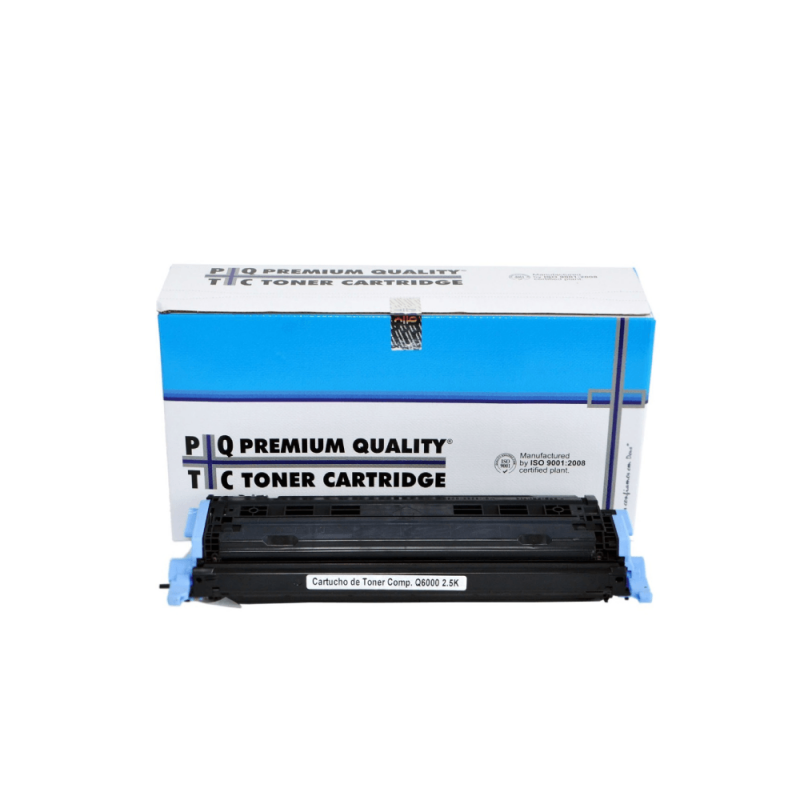CARTUCHO DE TONER COMPATIVEL HP Q6000 BLACK PREMIUM