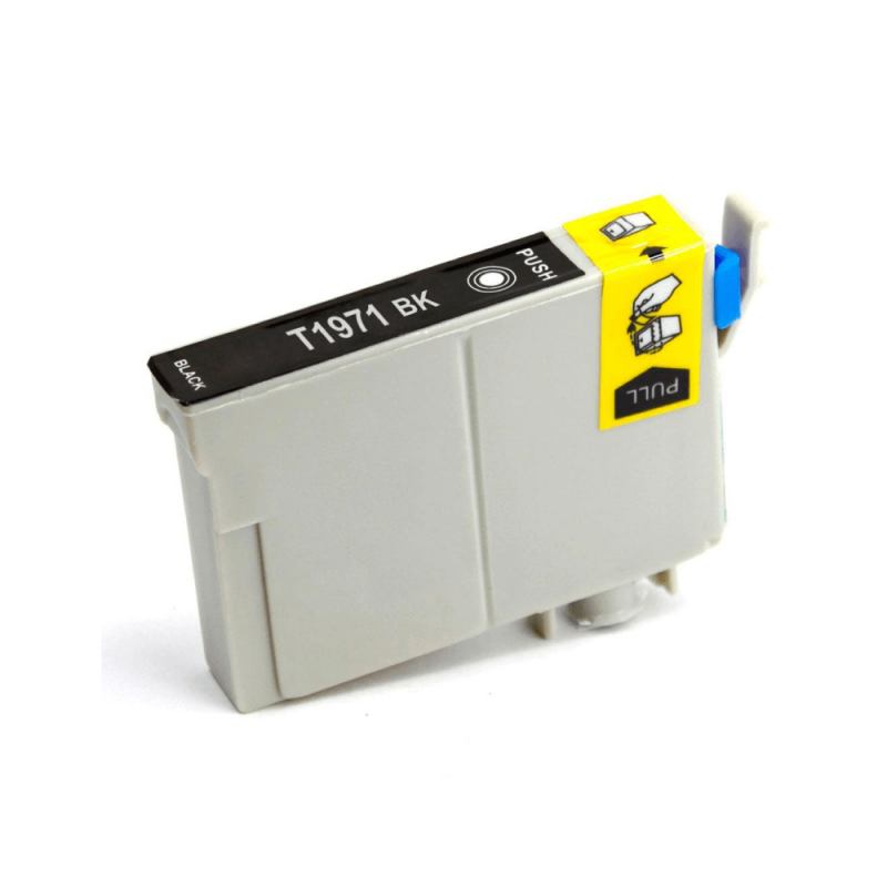 CARTUCHO DE TINTA COMPATIVEL EPSON T1971 BLACK