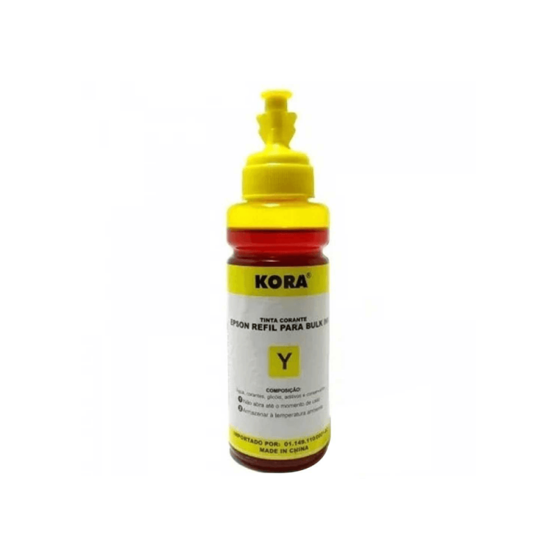 REFIL DE TINTA COMPATIVEL EPSON UNIVERSAL YELLOW 100ML